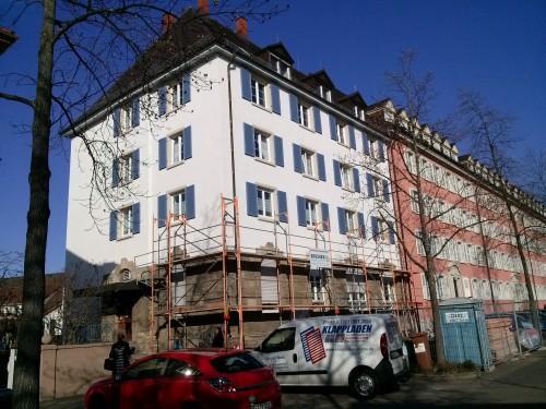 Fensterläden aus Aluminium, Freiburg