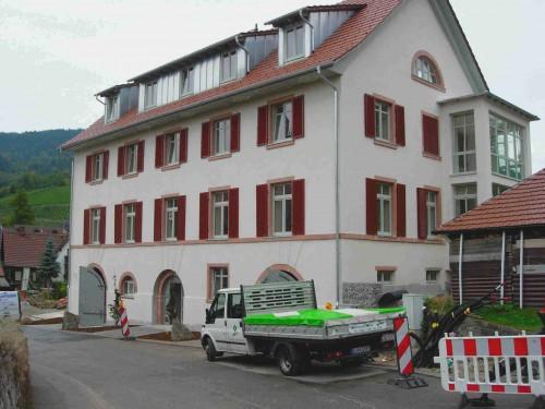 """Alu-Läden """"Alte Schule, Kappelrodeck"""""""