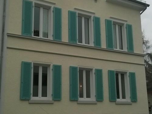 Fensterläden aus Aluminium, Speyer