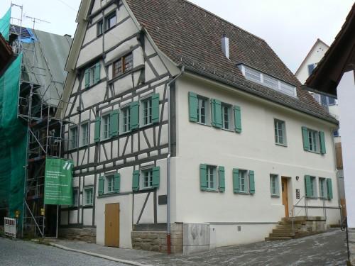 Esslingen, historisches denkmalgeschütztes Fachwerkhaus