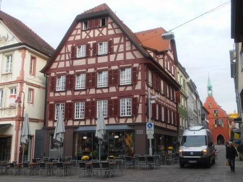 Denkmalgeschütztes Haus Lahr/ Schwarzwald. Modell 4-4