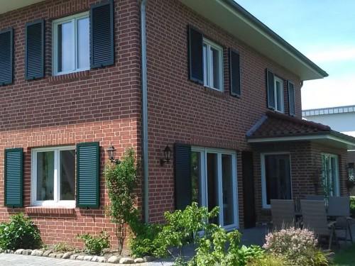 Haus mit Klinkerfassade, Schleswig-Holstein