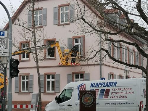 Friesenheim, Rathaus II, in Arbeit